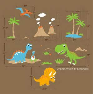 children wall decals dino land dinosaurs wall decal wall shark fish scene large childrens nursery wall sticker