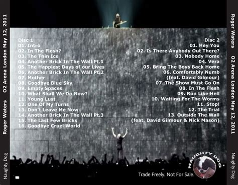 Waters Gilmour Comfortably Numb by Roio 187 Archive 187 Roger Waters With Gilmour
