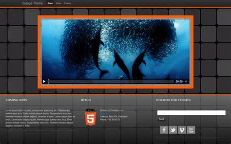 bootstrap themes orange orange theme landing pages wrapbootstrap