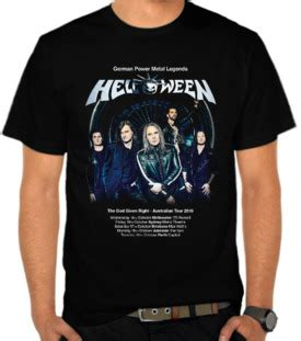 Kaos Band Metal Helloween Hello3 jual kaos helloween satubaju kaos distro