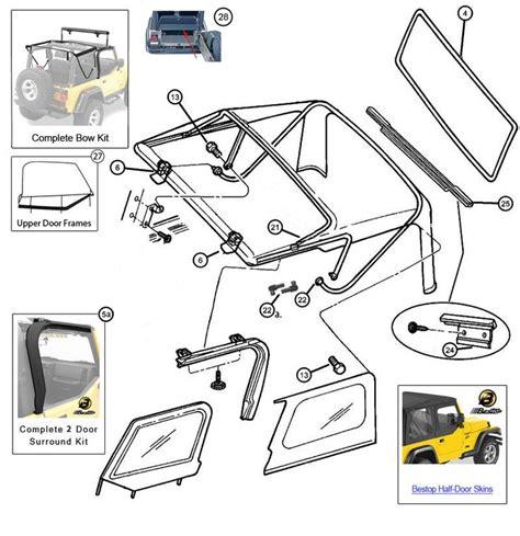jeep wrangler parts diagram 21 best images about jeep tj unlimited parts diagrams on