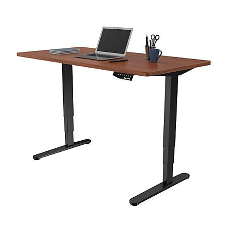 Office Max Standing Desk by Loctek Electric Height Adjustable Stand Up Desk