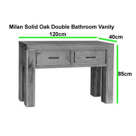 free standing vanity units bathroom milan oak free standing bathroom vanity unit