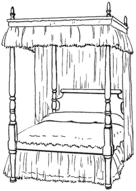 bedroom clipart black and white bed black and white clipart clipart suggest