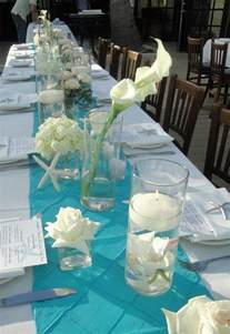 themed table decorations for weddings best 25 teal wedding flowers ideas on lantern