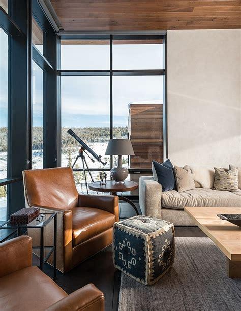 modern mountain retreat by pearson design group ikea decora