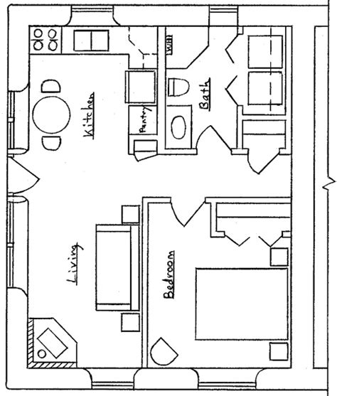 Trellis Over Garage Plans 20 X 20 Floorplan Add Loft 20 X 20 Guest House Plans