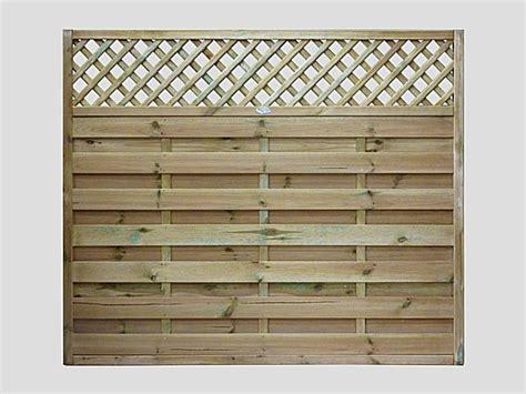 Small Lattice Fence Panels Continental Fence Panels Pennine Horizontal Lattice Top