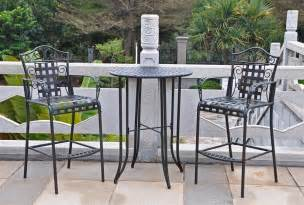 Bistro Outdoor Table And Chairs Pale Yellow » Ideas Home Design