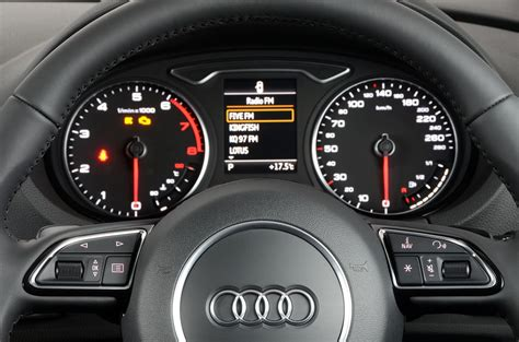 Car Shows White Audi A3 2013 Dashboard