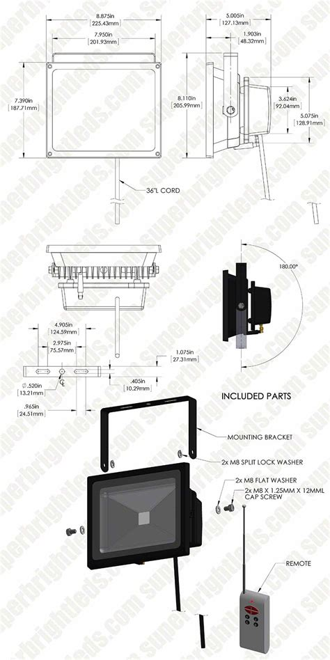 Special Package Polaroid Shining Light 1 Led 30 Polaroid 30 Clip high power 30w rgb led flood light fixture with remote