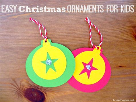 easy kid ornaments gift idea easy ornaments for