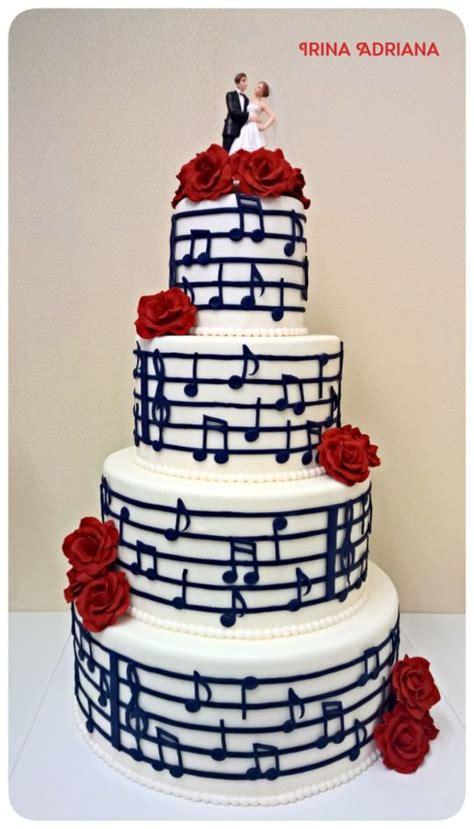 Wedding Notes by Note Wedding Cake Cake By Irina Cakesdecor