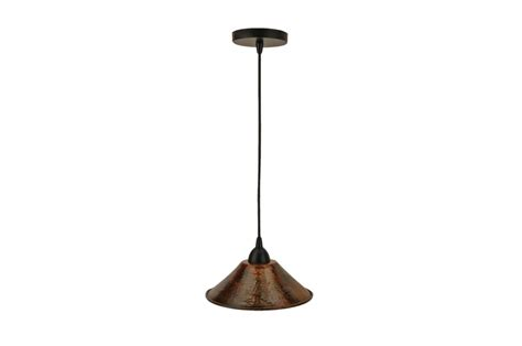 Hammered Copper Pendant Lights Hammered Copper 9 Inch Cone Pendant Light Uvpcpl500db