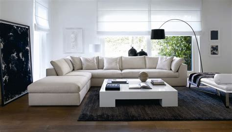 modern livingroom designs add space where you need it the most with l shaped sofas