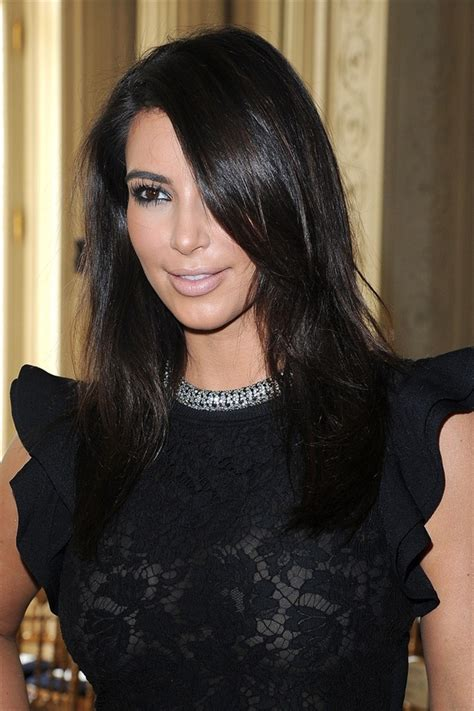 hairstyles for long hair kim kardashian 15 beautiful simple kim kardashian hairstyles for women