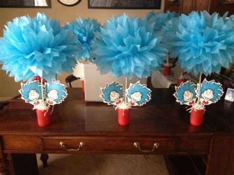 Thing 1 And Thing 2 Baby Shower Supplies by Thing 1 And Thing 2 Centerpieces Ideas