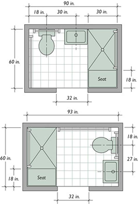 bathroom floor plans small small bathroom floor plans on pinterest bathroom