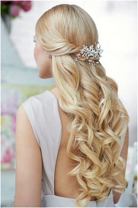 how to do half up half down hairstyles wikihow 2015 prom hairstyles half up half down prom hairstyles