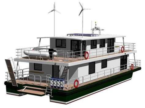 Modus Maris Houseboat Modus Maris Catamarans Houseboat Blueprints