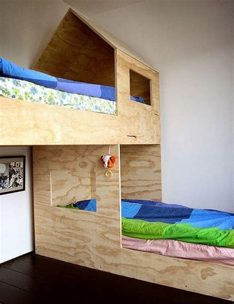 Plywood Bunk Bed 25 Best Ideas About Childrens Beds On Diy Childrens Beds Bed Design And Kid Beds