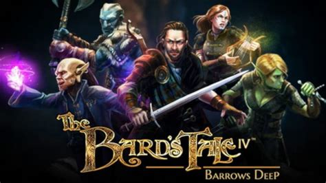 The Bard the bard s tale iv barrows 187 free cracked