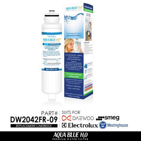 westinghouse fridge model whe7670sa replacement water filter dw2042fr 09