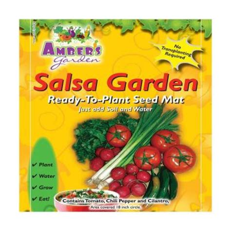 Amber S Garden Salsa Garden Easy Vegetable Seed Starting Vegetable Garden Seed Kits
