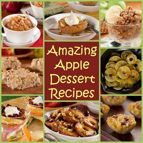 desserts amazing 8 amazing apple dessert recipes everydaydiabeticrecipes