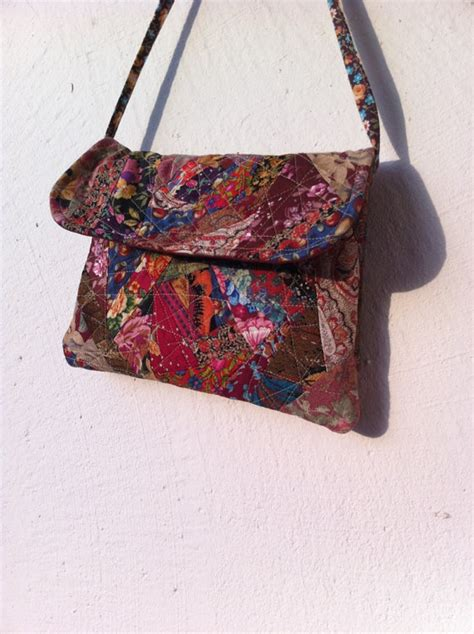 Handmade Purse Designs - handmade purse in quilting pattern