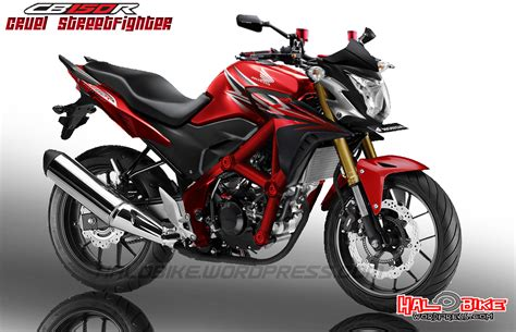 Honda Cb 150 R modification honda cb 150 r rendering ini dia sosok cb150r facelift sangar modification