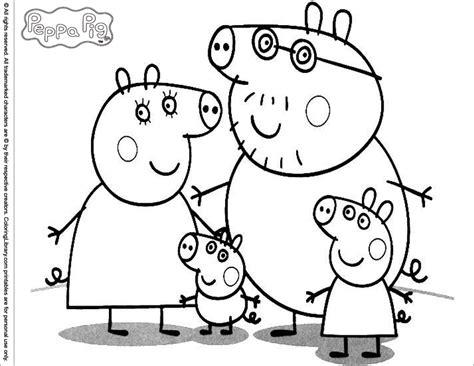 111 Dessins De Coloriage Peppa Pig 224 Imprimer Sur Coloriage Peppa Pig L