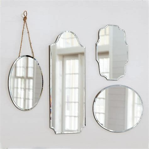 frameless bathroom wall mirrors eleanor frameless mirrors it lovely