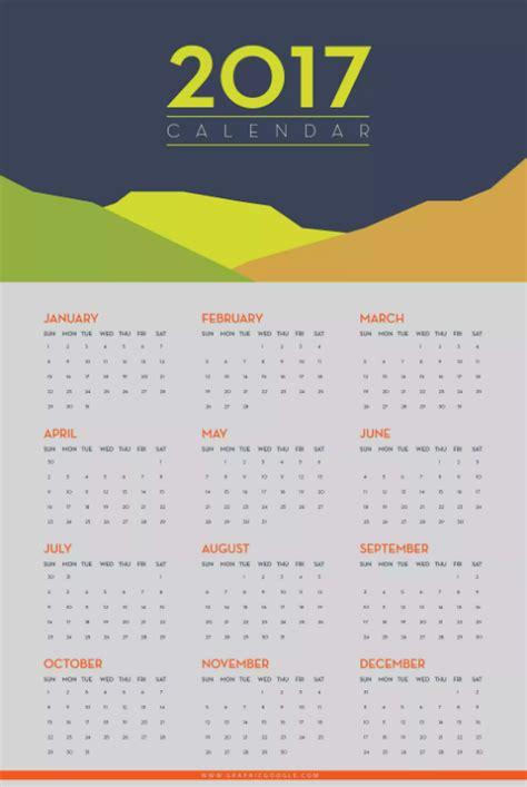printable calendar graphic design 15 free printable 2017 wall calendar templates ginva