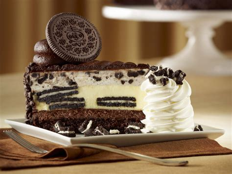 Oreo Cheese Cake Half on monday the cheesecake factory celebrates national cheesecake day with half price slice offer