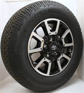 Michelin Tires For 18 Inch Rims 2015 Toyota Tundra Trd Sequoia 18 Quot Oem Factory Wheels Rims