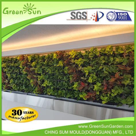 Self Watering Vertical Planters greensun hot sale self watering vertical garden green wall