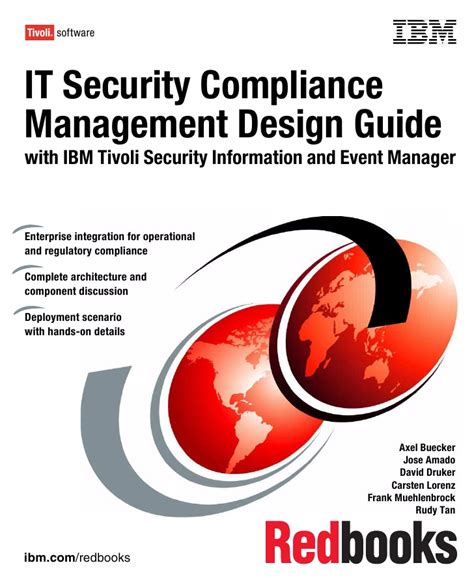 event design guide it security compliance management design guide with ibm