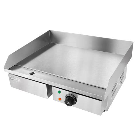 Electric Cooktop With Griddle stainless steel electric griddle cooktop bbq commercial home saa ce approved ebay