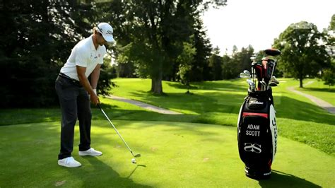 adam scott iron swing the adam scott golf swing analysis