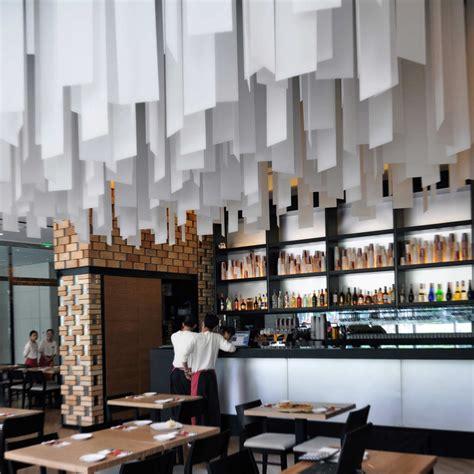 restaurant decor restaurants with striking ceiling designs
