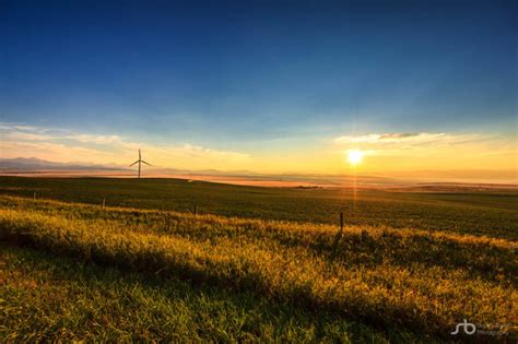 Rural Address Lookup Alberta Pincher Creek Wind Turbines Sunset Rural Alberta Landscape A Canadian Stock Trader
