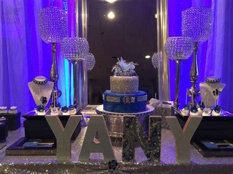 Diamonds And Denim Birthday Party Ideas Birthday Party Denim And Diamonds Centerpieces