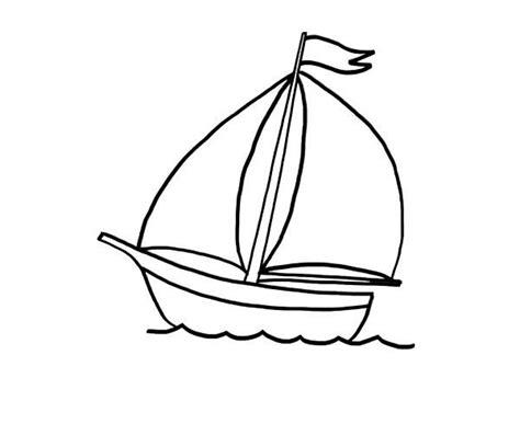 barco dibujo pagina para colorear barco colorear