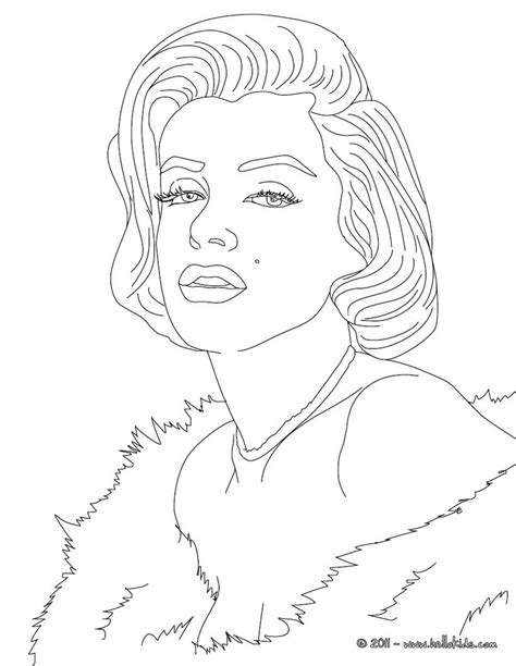 marylin monroe coloring page coloring pages drawings marylin monroe coloring pages hellokids com