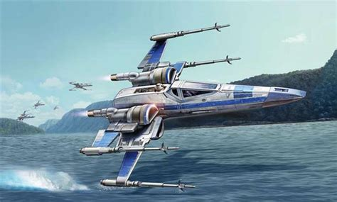 Best Home Paint by Revell Usa Misc Stars Wars Resistance X Wing Fighter