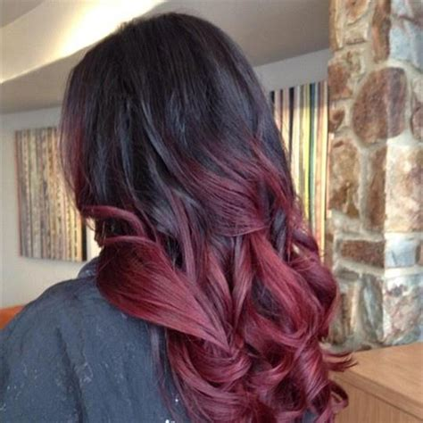Red Ombre Hair | red ombre hair care