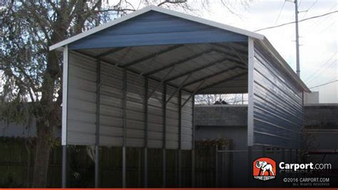 Aluminum Carport Roof Rv Cover 12 X 31 With A Frame Metal Roof Shop Carports