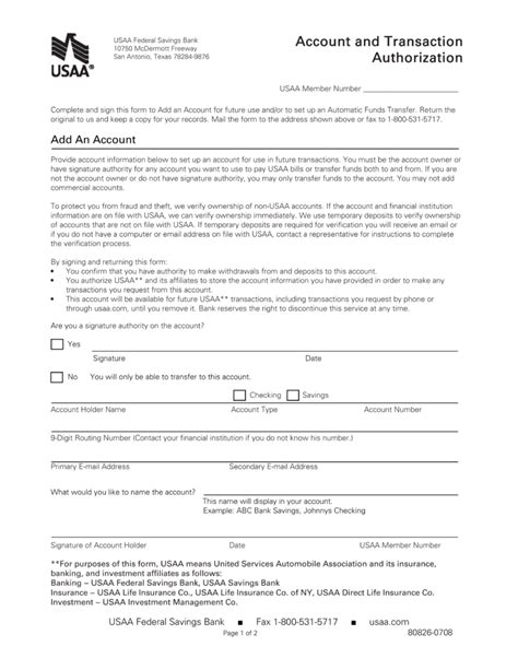 authorization letter to deposit idbi bank free usaa direct deposit authorization form pdf eforms