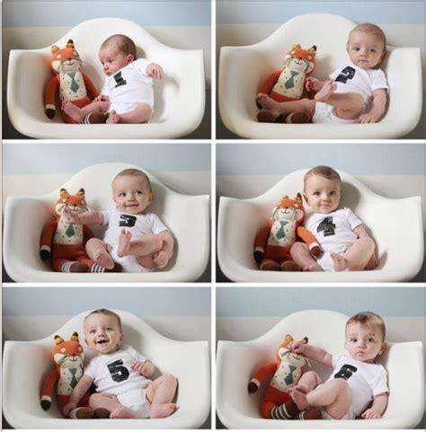 baby bilder ideen ideas for monthly baby photos serravision photography